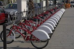 אופניים של חברת Bicing
