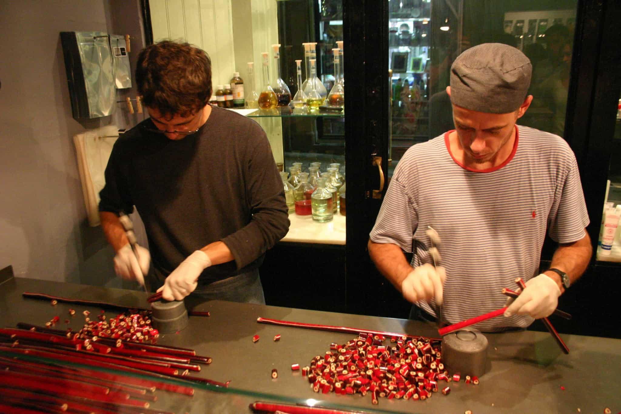הכנת ממתקים בפאפאבובל