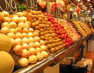השוק המפורסם בברצלונה