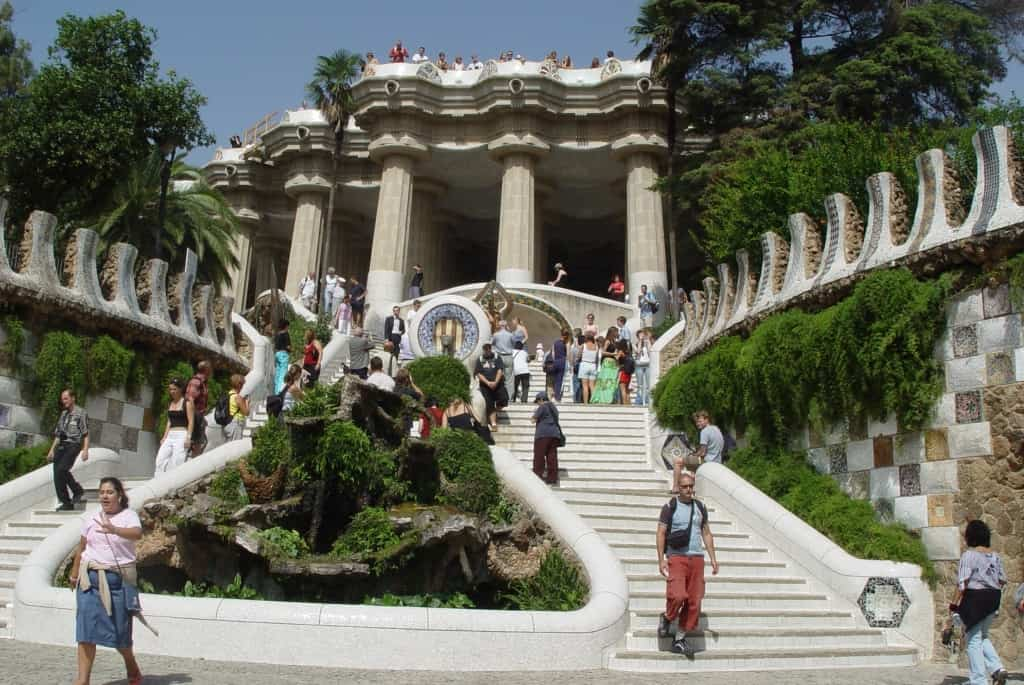 פארק גואל Parc Guell ברצלונה