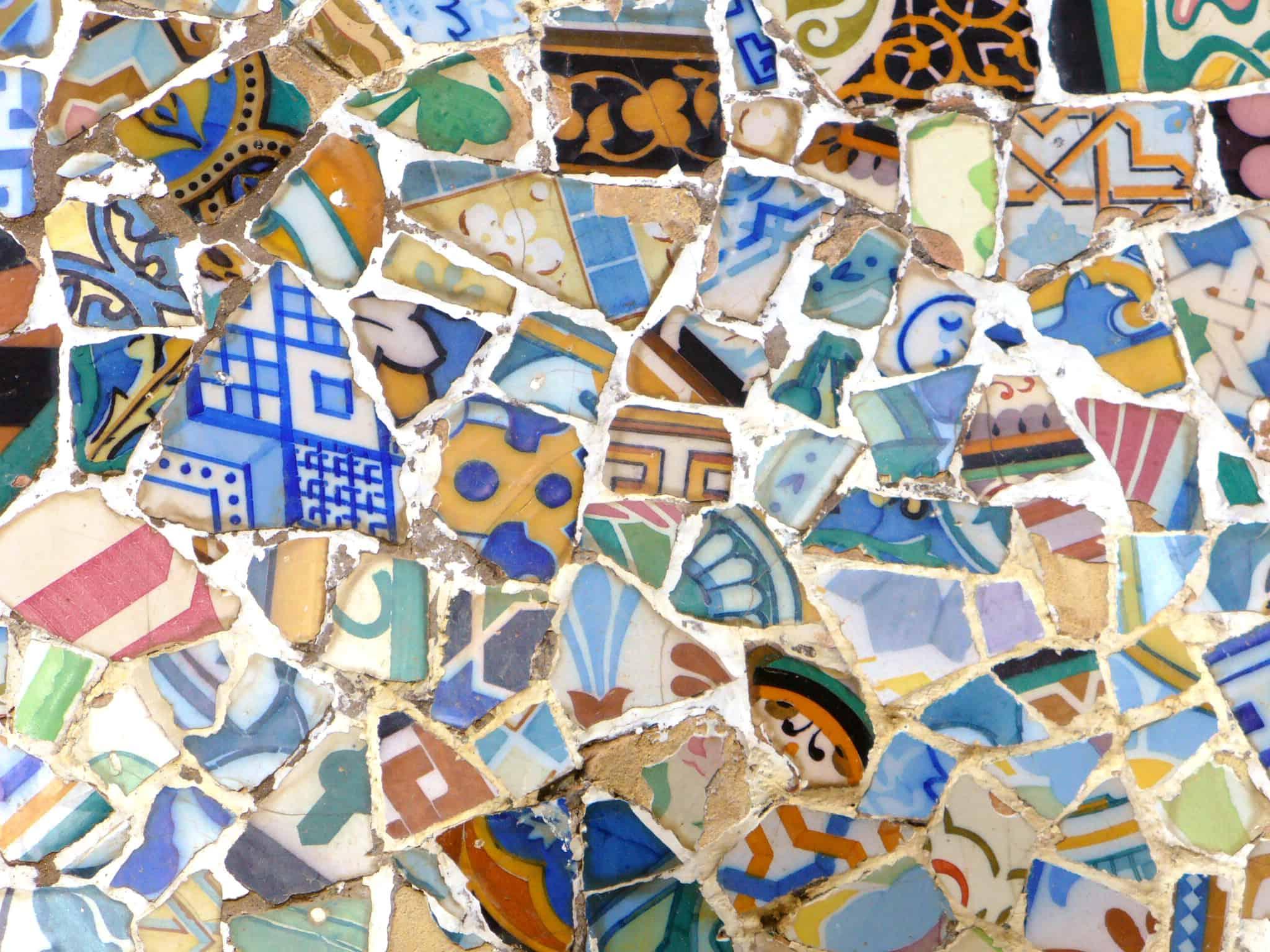 המוזאיקות של גאודי Gaudi
