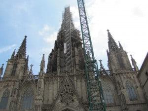 הרובע הגותי. הקתדרלה