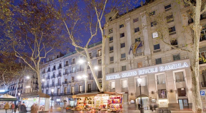 מלון סרס ריבולי רמבלה | Hotel Serhs Rivoli Rambla – ברצלונה