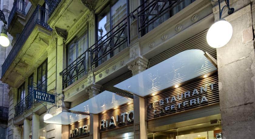 מלון ריאלטו | Hotel Rialto – ברצלונה