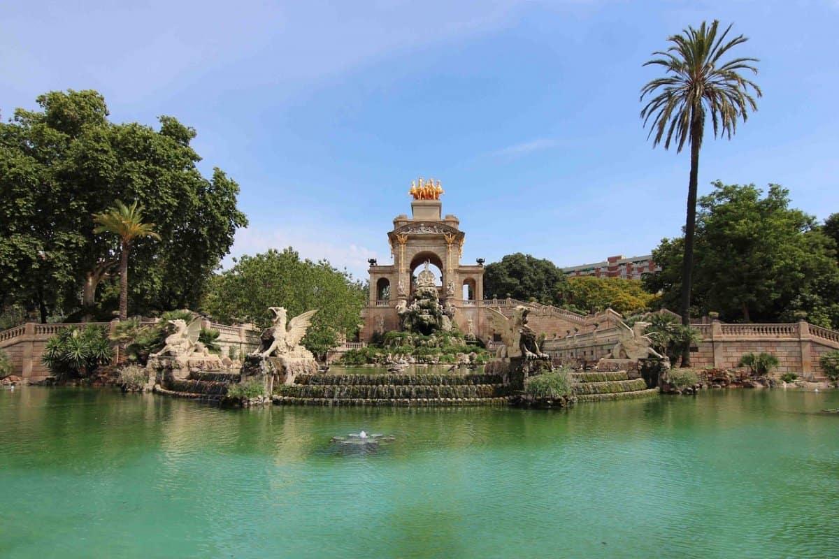 מזרקה בפארק המצודה ברצלונה