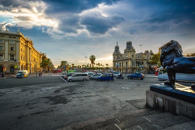 מזג אוויר מעונן בברצלונה