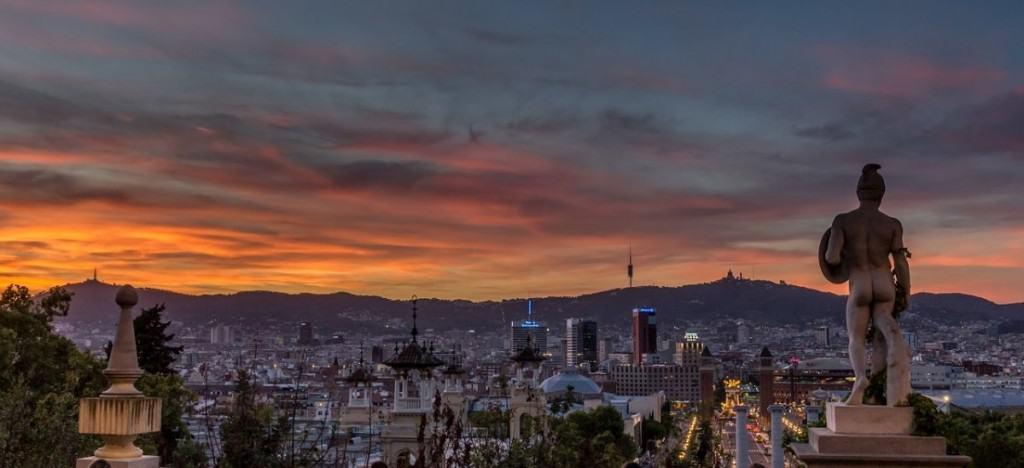 הנוף של ברצלונה